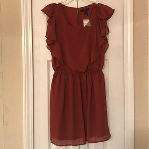 Forever 21 Dress -Short - Color Rust - NWT - Small